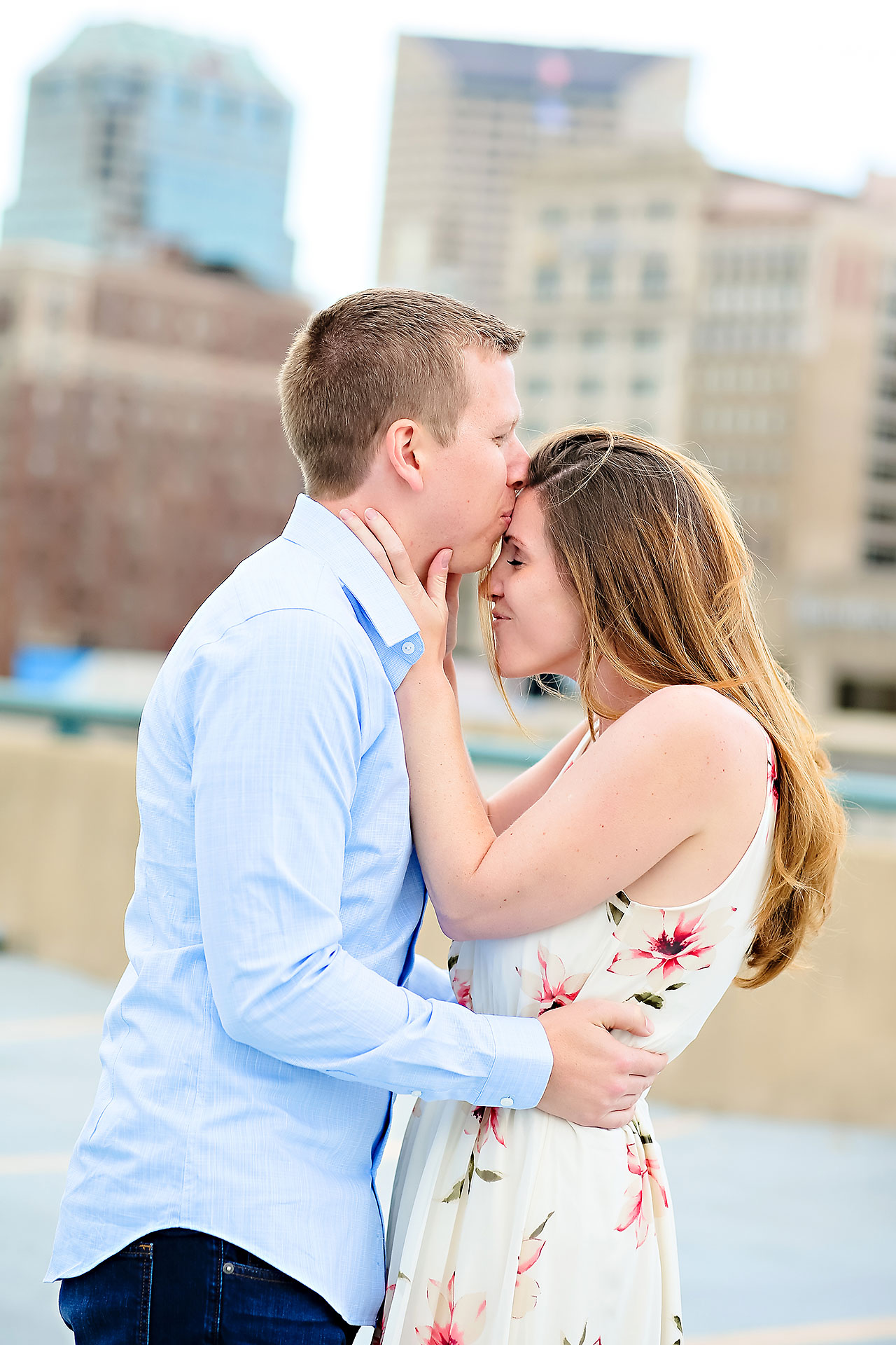Chelsea Jeff Downtown Indy Engagement Session 138