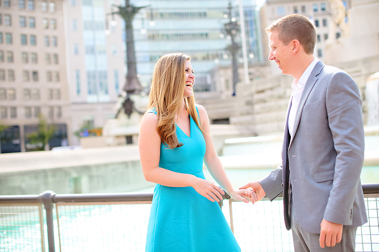 Chelsea Jeff Downtown Indy Engagement Session 122