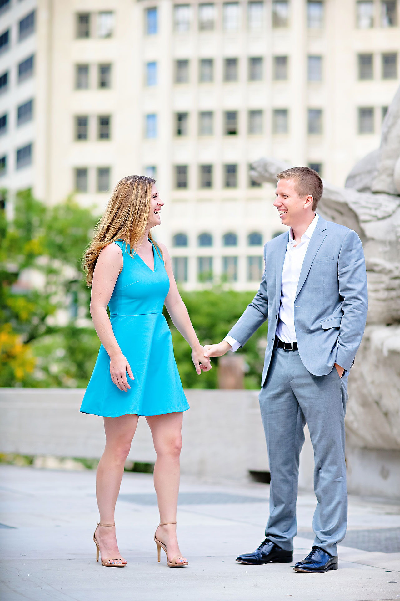 Chelsea Jeff Downtown Indy Engagement Session 116