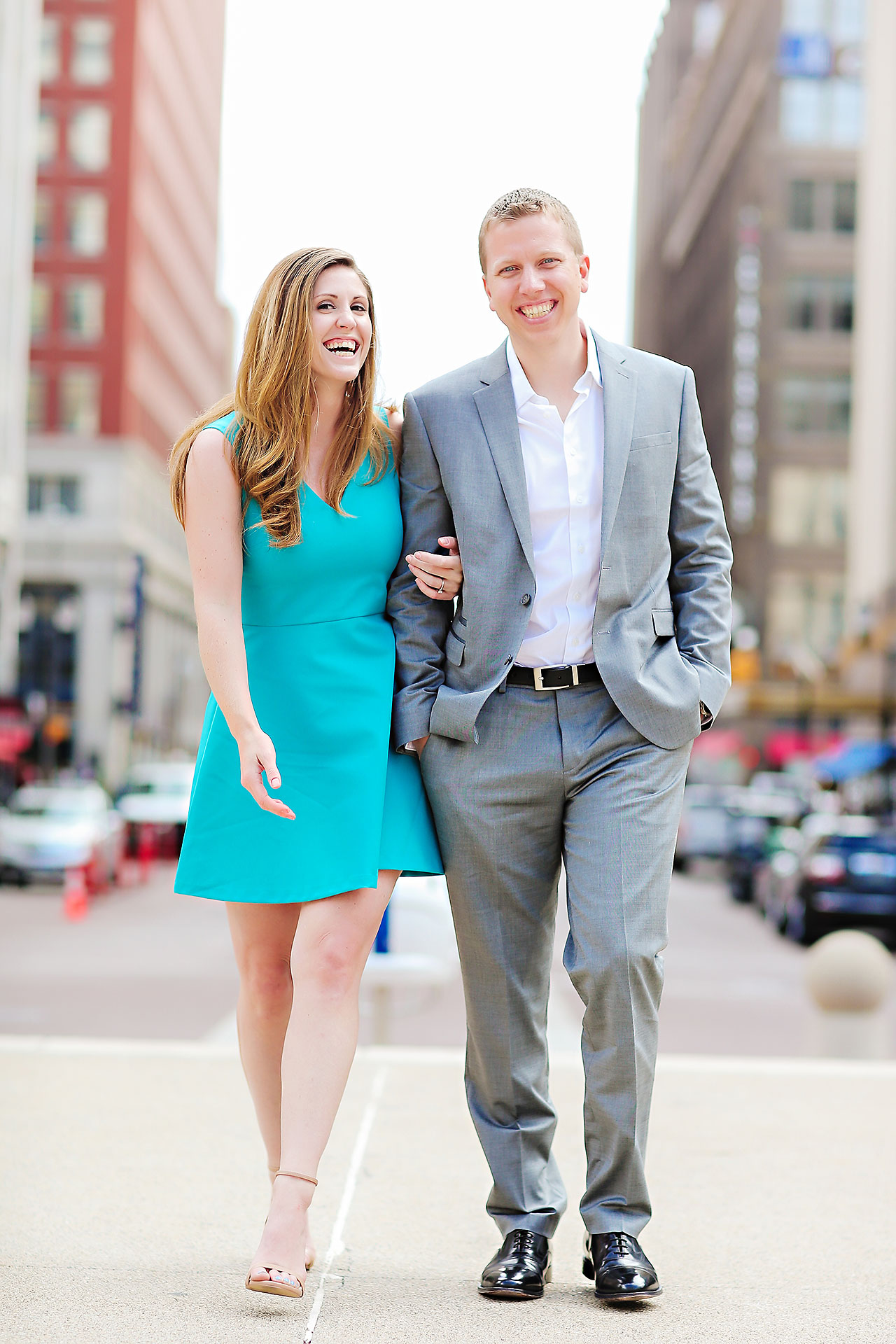 Chelsea Jeff Downtown Indy Engagement Session 114
