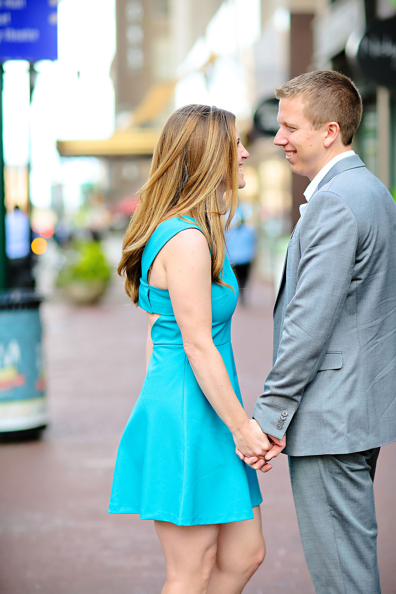 Chelsea Jeff Downtown Indy Engagement Session 112