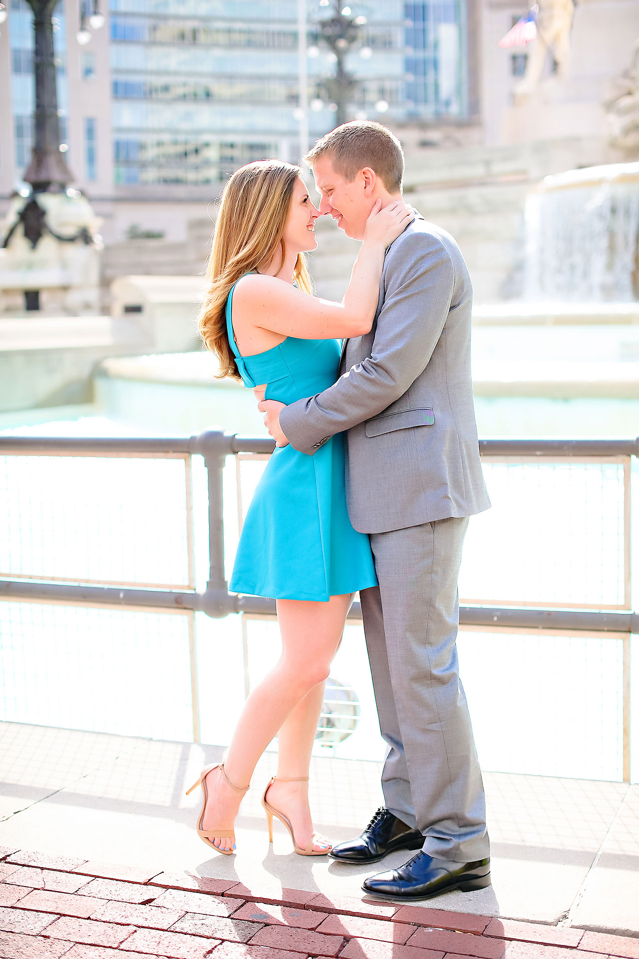 Chelsea Jeff Downtown Indy Engagement Session 105