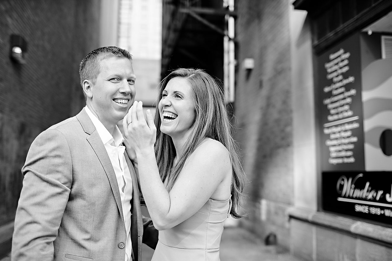 Chelsea Jeff Downtown Indy Engagement Session 099