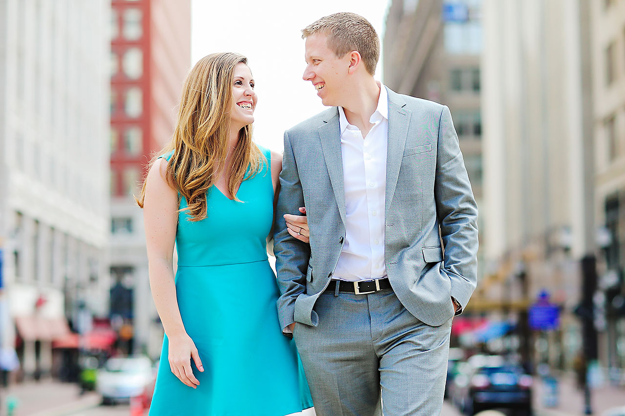 Chelsea Jeff Downtown Indy Engagement Session 098