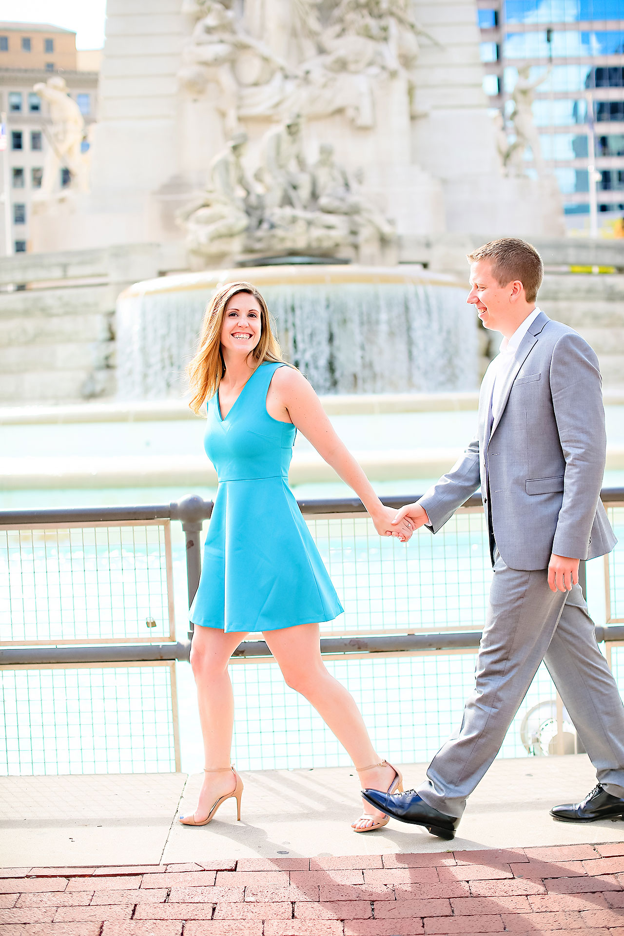 Chelsea Jeff Downtown Indy Engagement Session 093
