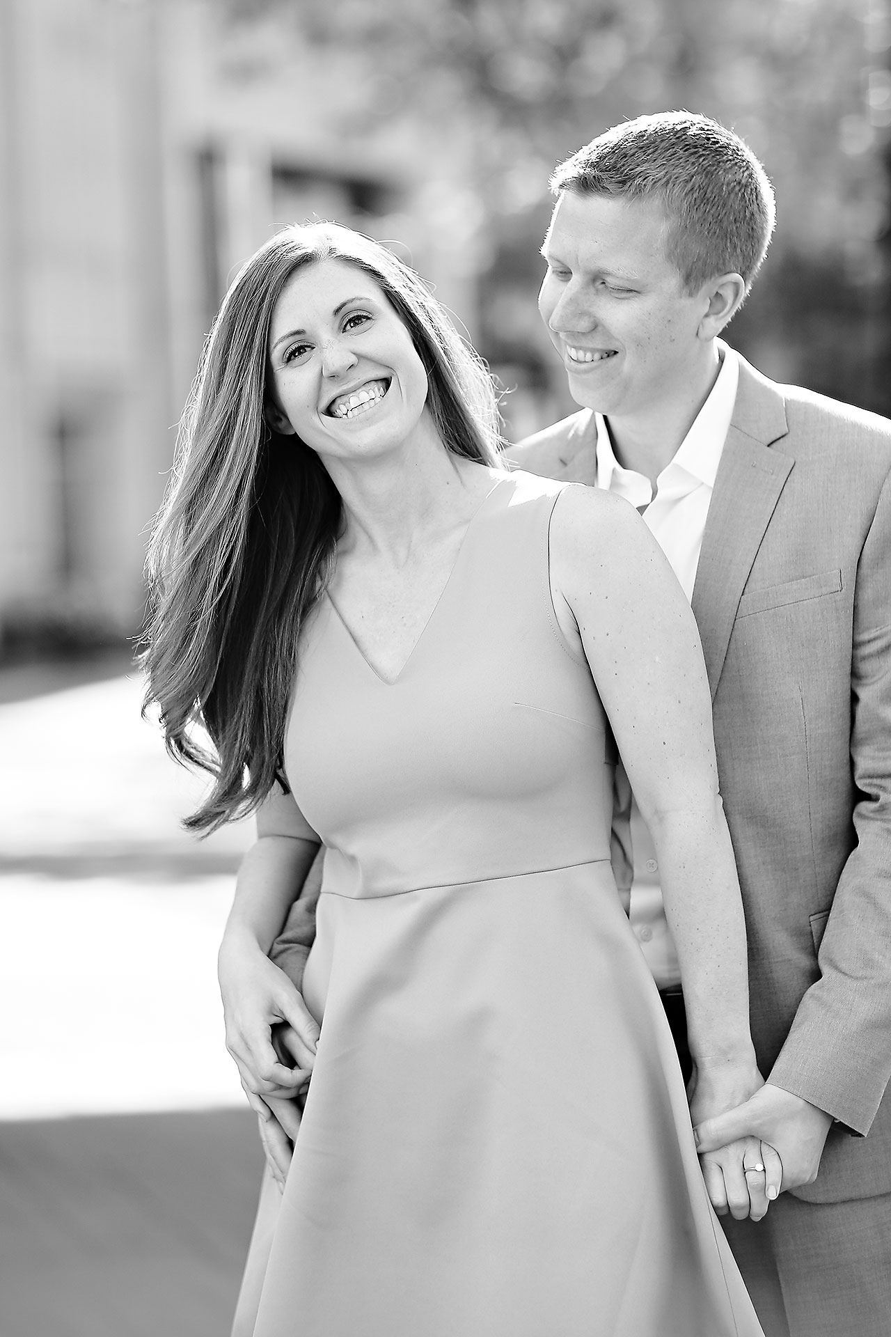 Chelsea Jeff Downtown Indy Engagement Session 090