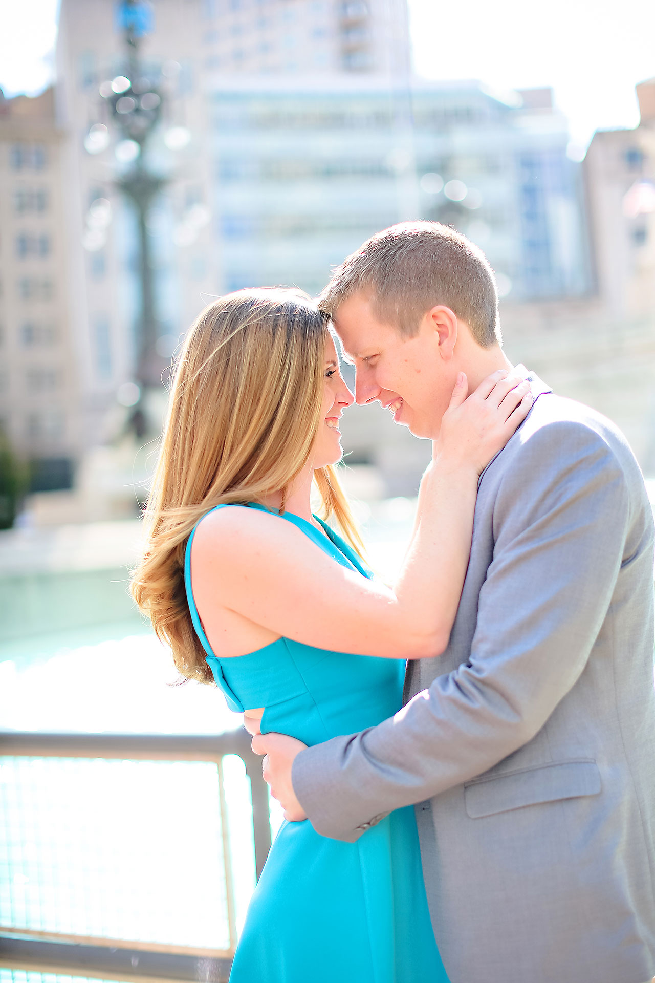 Chelsea Jeff Downtown Indy Engagement Session 087