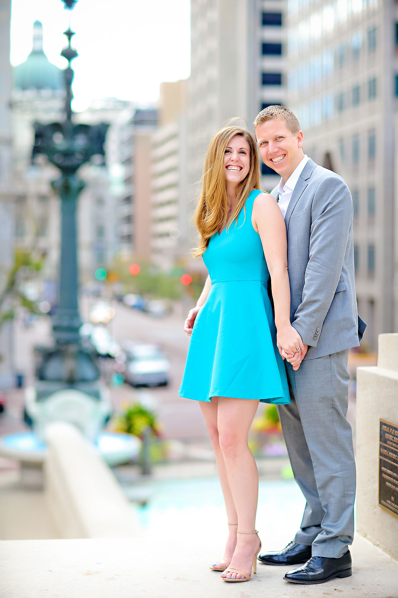 Chelsea Jeff Downtown Indy Engagement Session 085