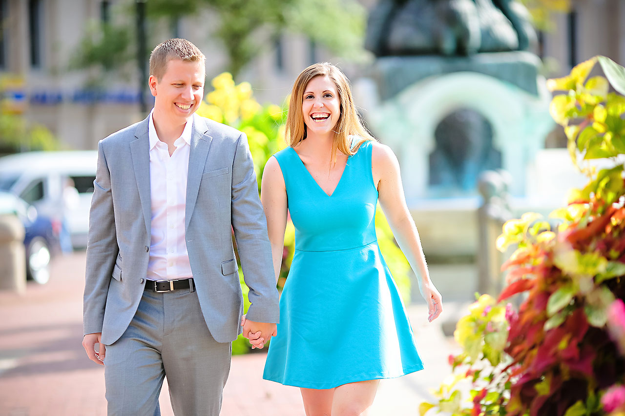Chelsea Jeff Downtown Indy Engagement Session 077