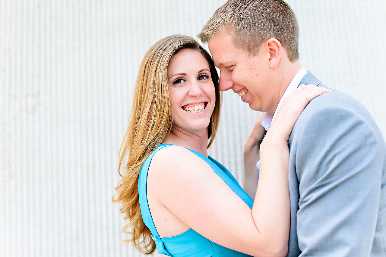 Chelsea Jeff Downtown Indy Engagement Session 074
