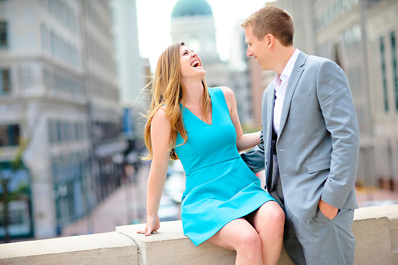 Chelsea Jeff Downtown Indy Engagement Session 075