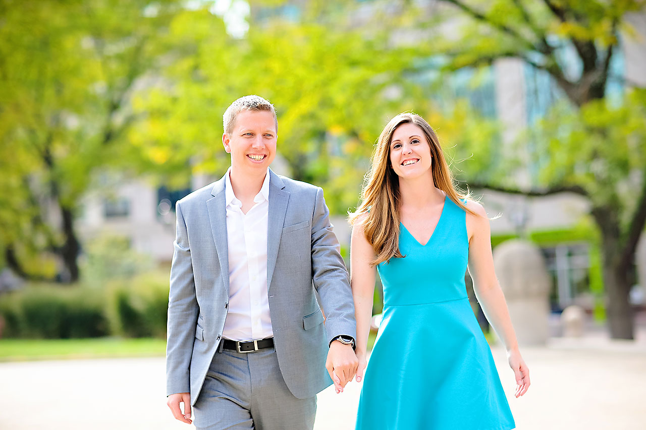 Chelsea Jeff Downtown Indy Engagement Session 073