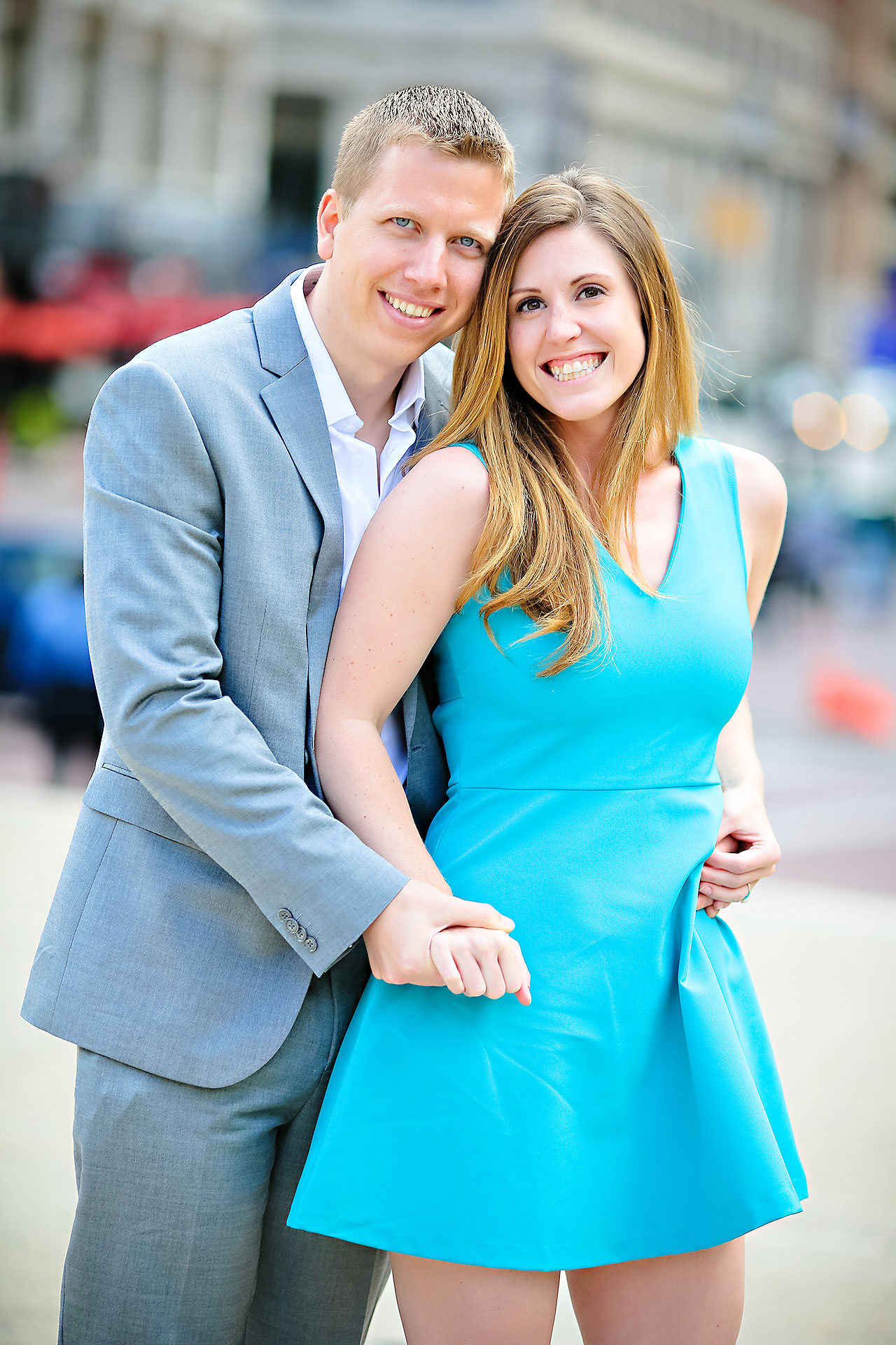 Chelsea Jeff Downtown Indy Engagement Session 069