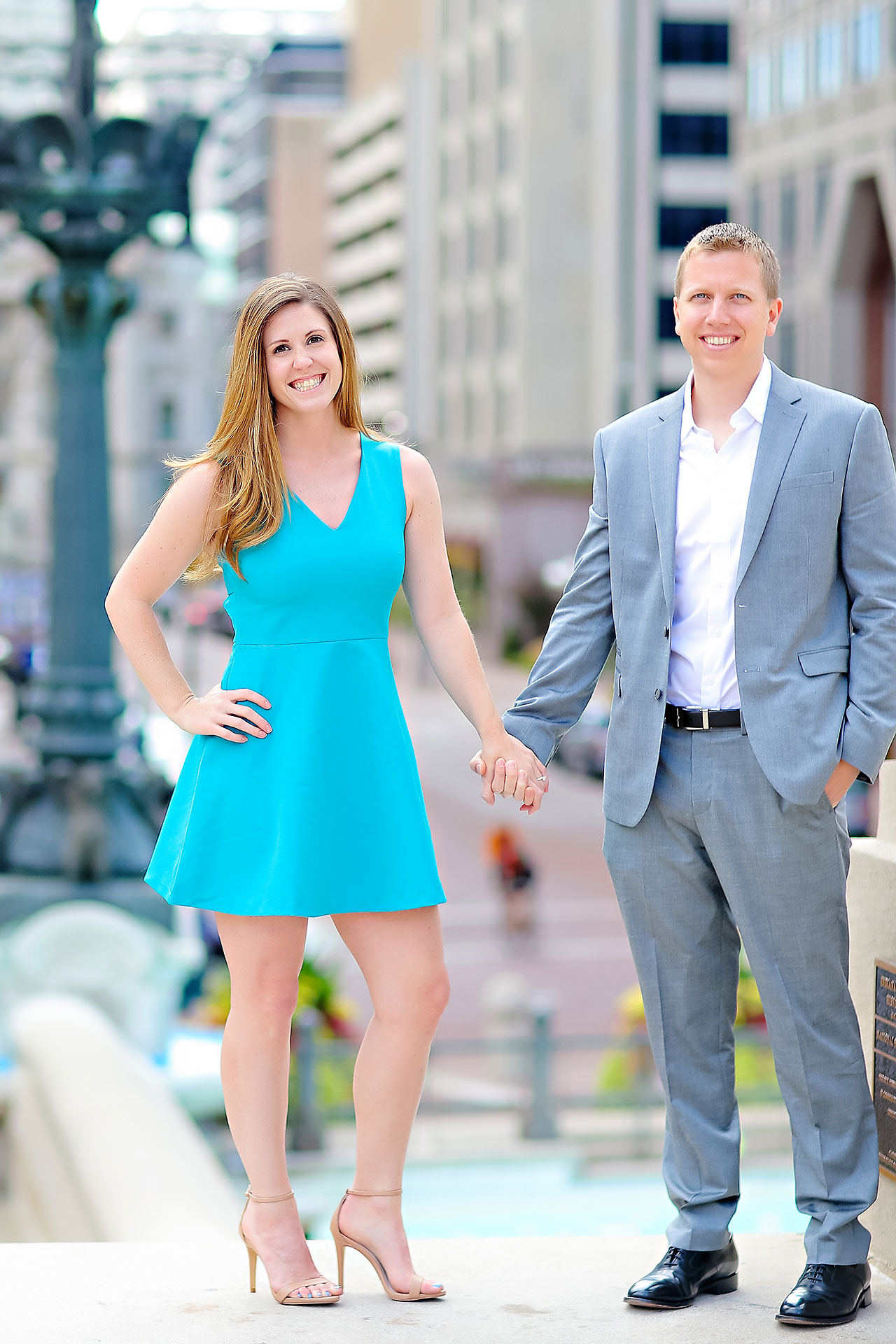 Chelsea Jeff Downtown Indy Engagement Session 057