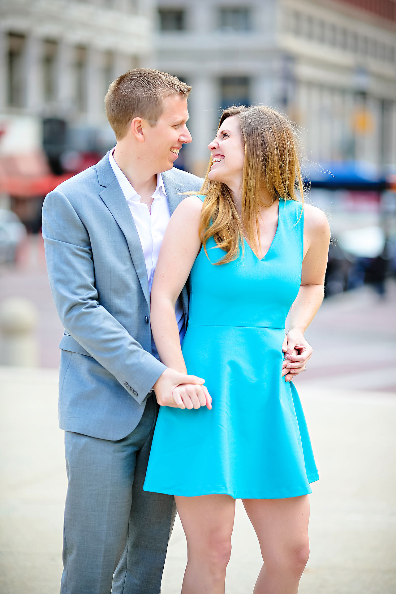 Chelsea Jeff Downtown Indy Engagement Session 055