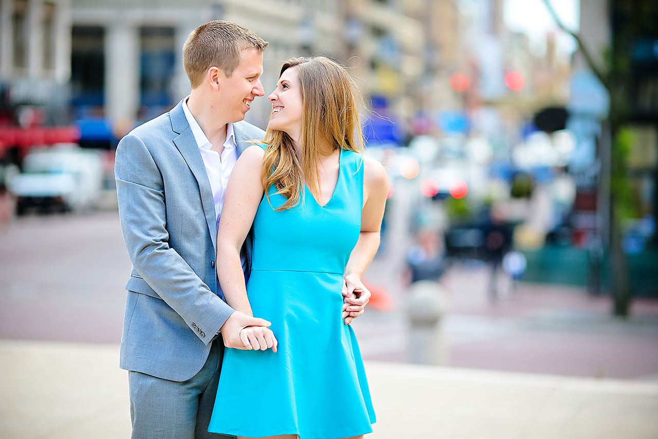 Chelsea Jeff Downtown Indy Engagement Session 048