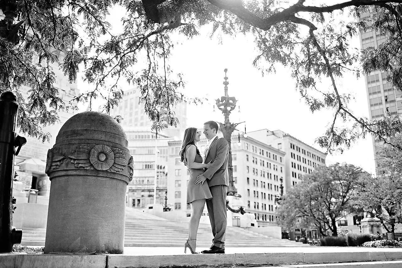 Chelsea Jeff Downtown Indy Engagement Session 046