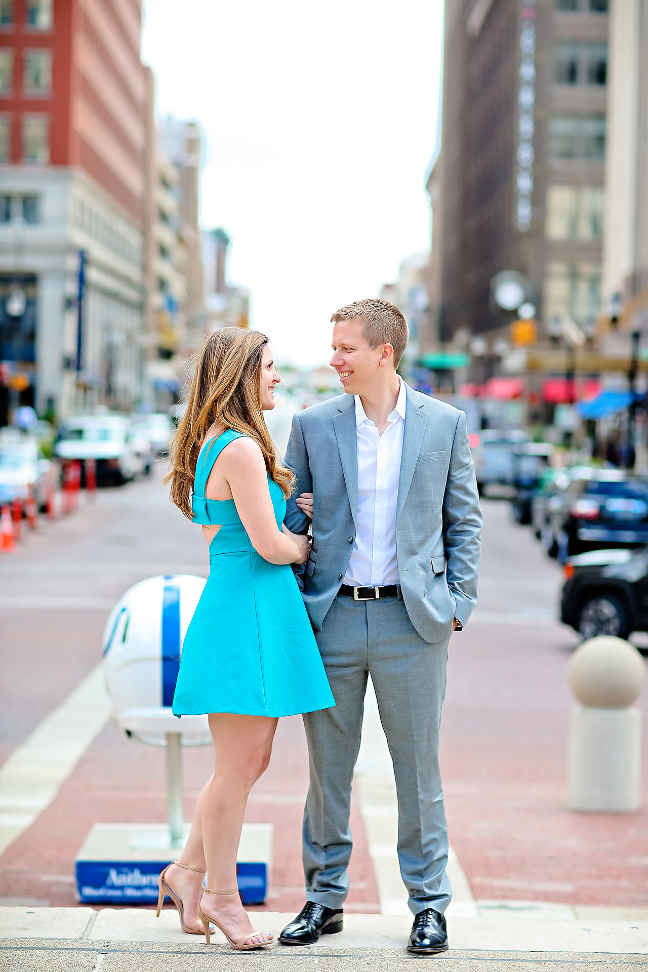 Chelsea Jeff Downtown Indy Engagement Session 034