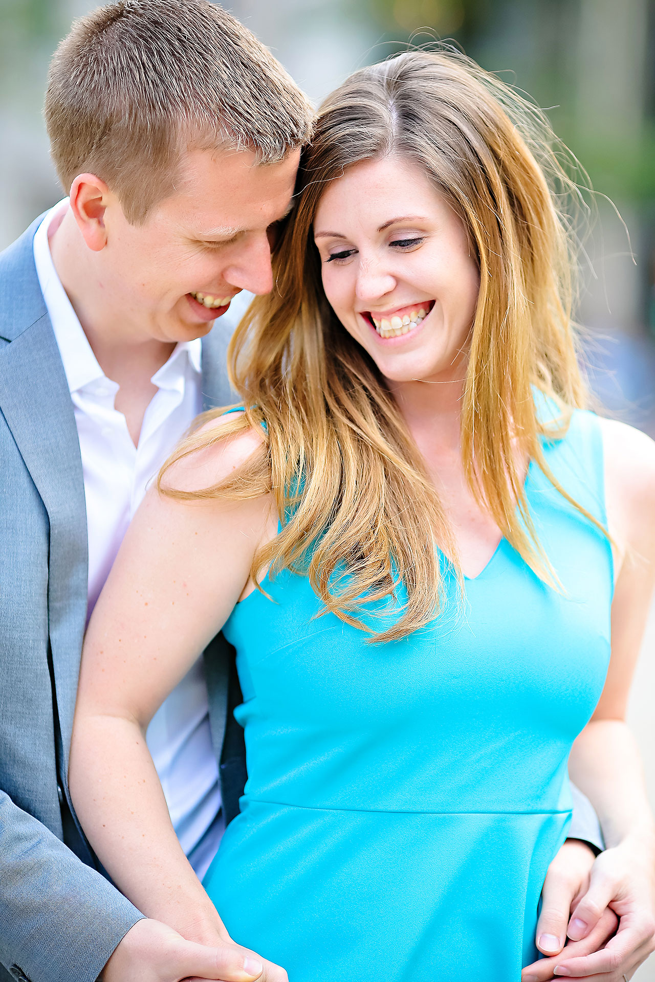Chelsea Jeff Downtown Indy Engagement Session 033
