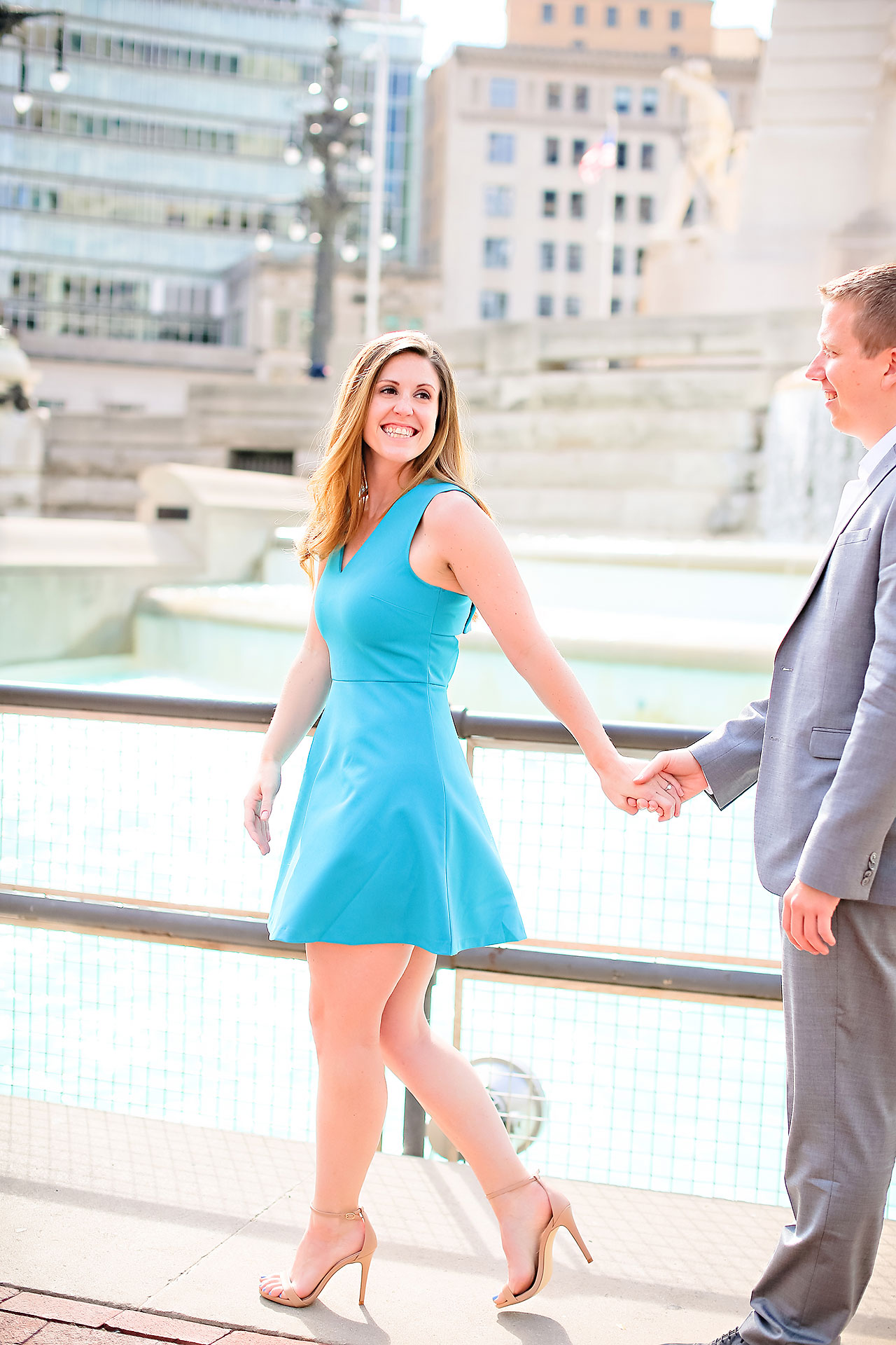 Chelsea Jeff Downtown Indy Engagement Session 030