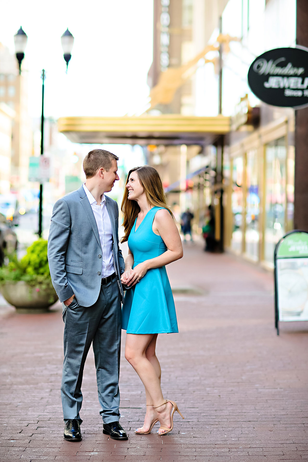 Chelsea Jeff Downtown Indy Engagement Session 031