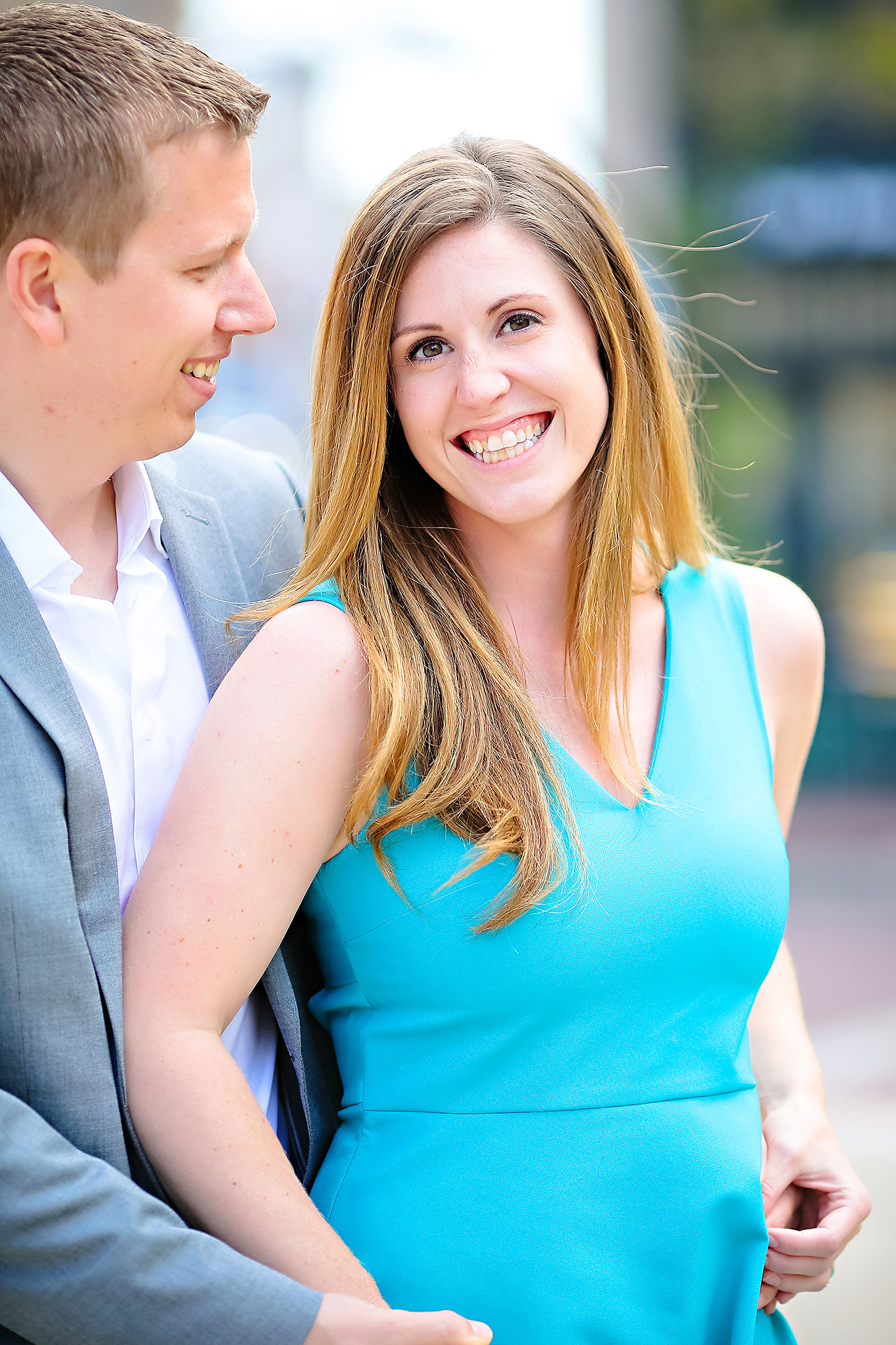Chelsea Jeff Downtown Indy Engagement Session 027