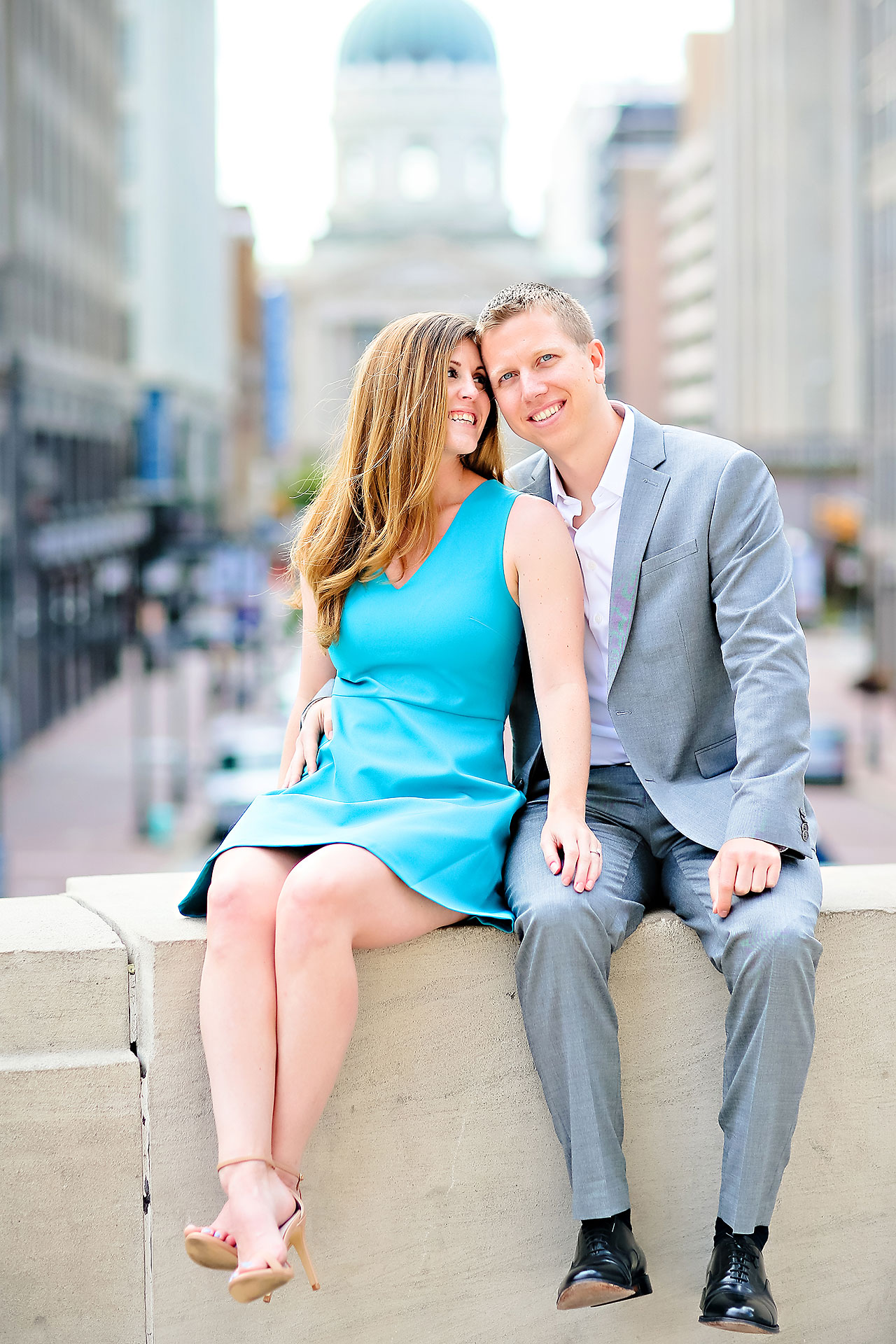 Chelsea Jeff Downtown Indy Engagement Session 025