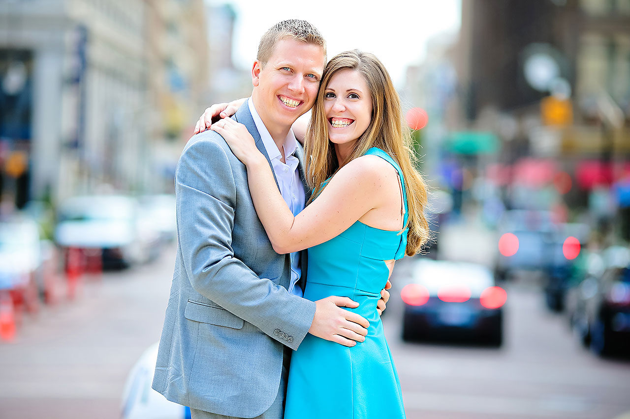 Chelsea Jeff Downtown Indy Engagement Session 019