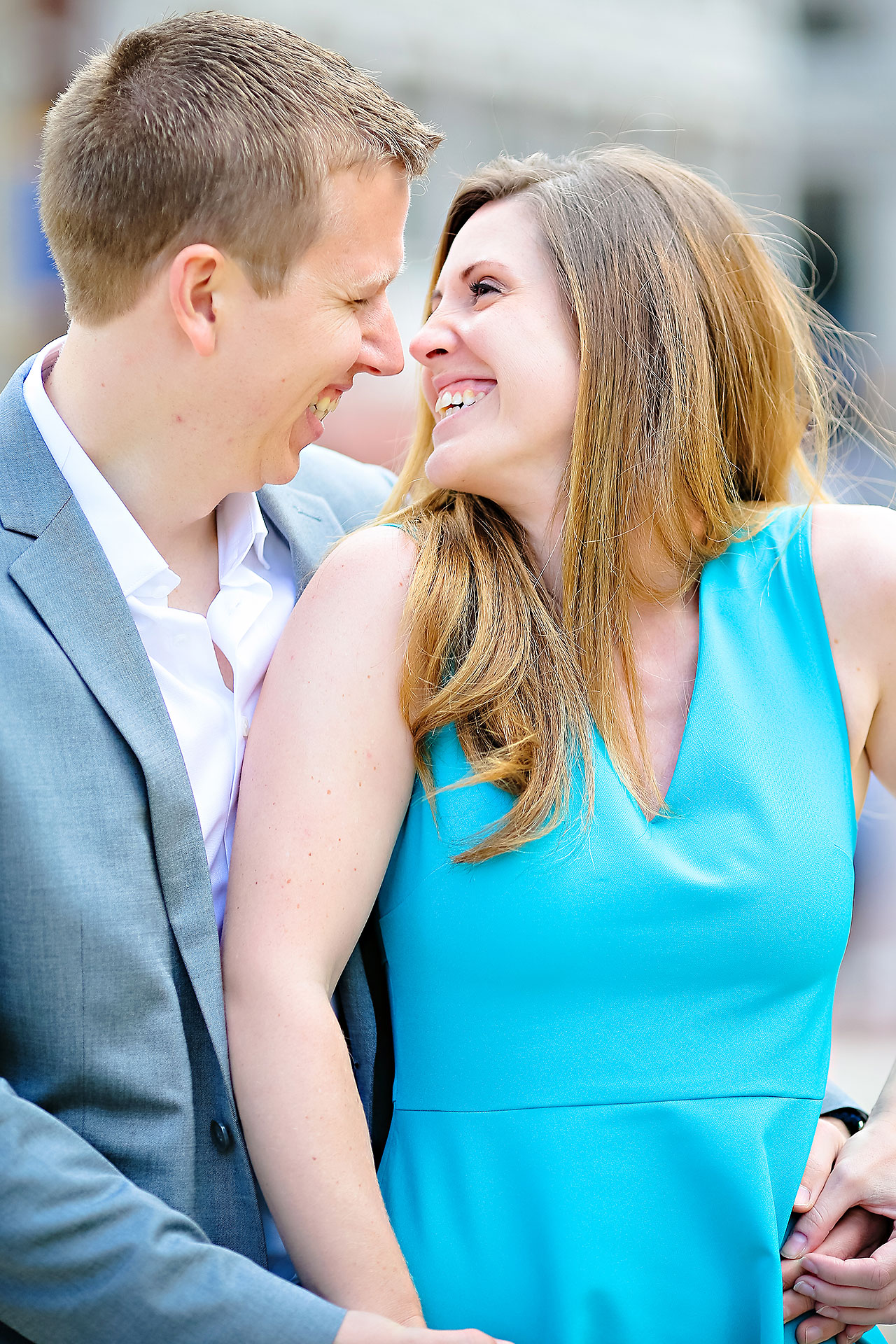 Chelsea Jeff Downtown Indy Engagement Session 014