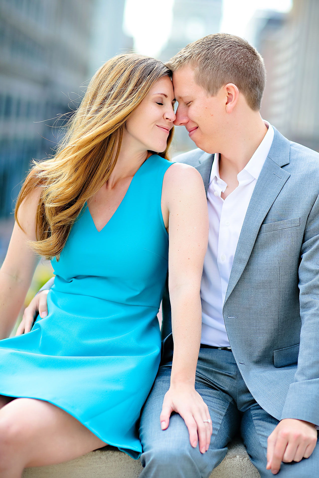 Chelsea Jeff Downtown Indy Engagement Session 004