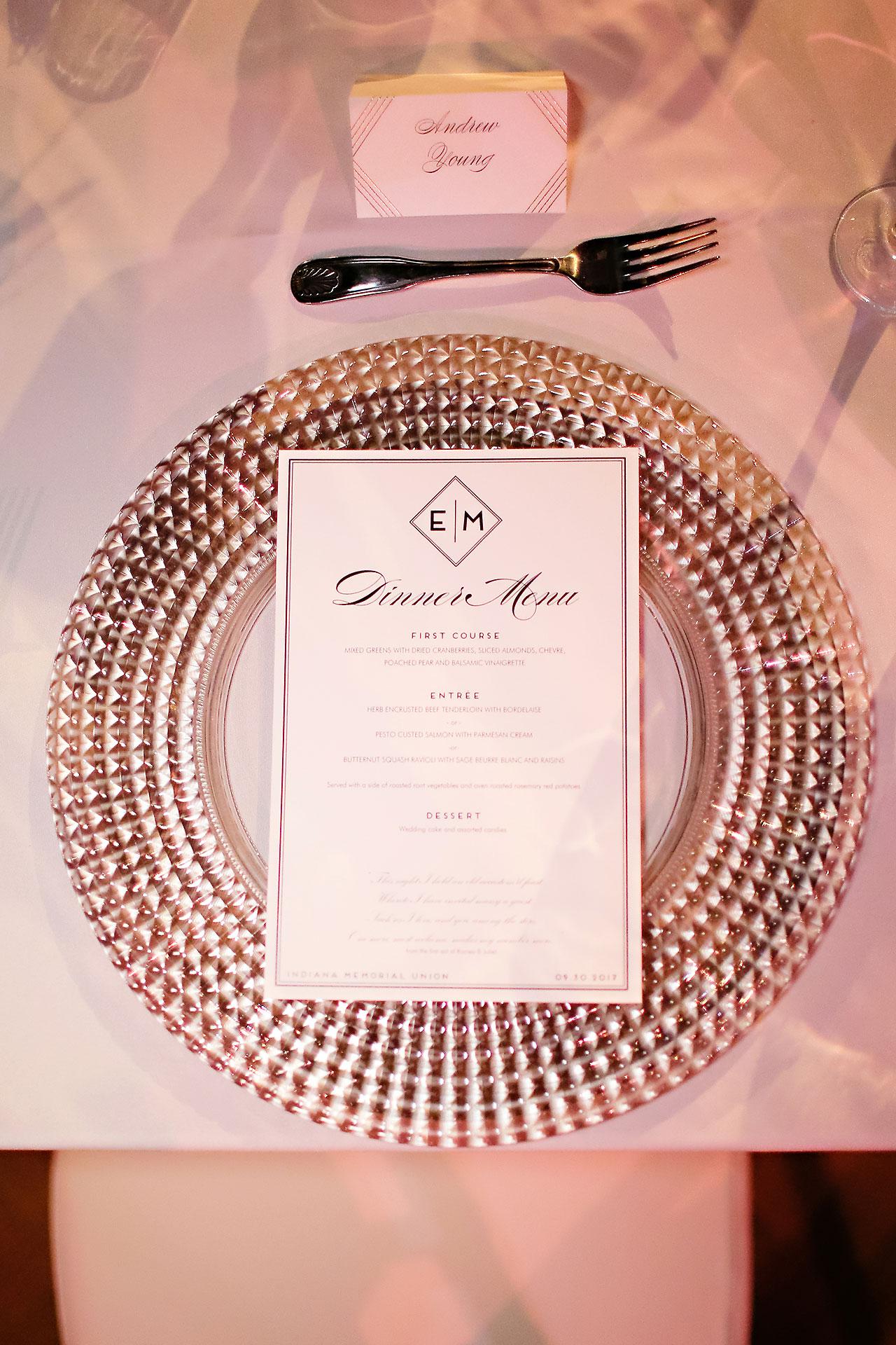 Emily Michael IU Wedding Alumni Hall 239NEW