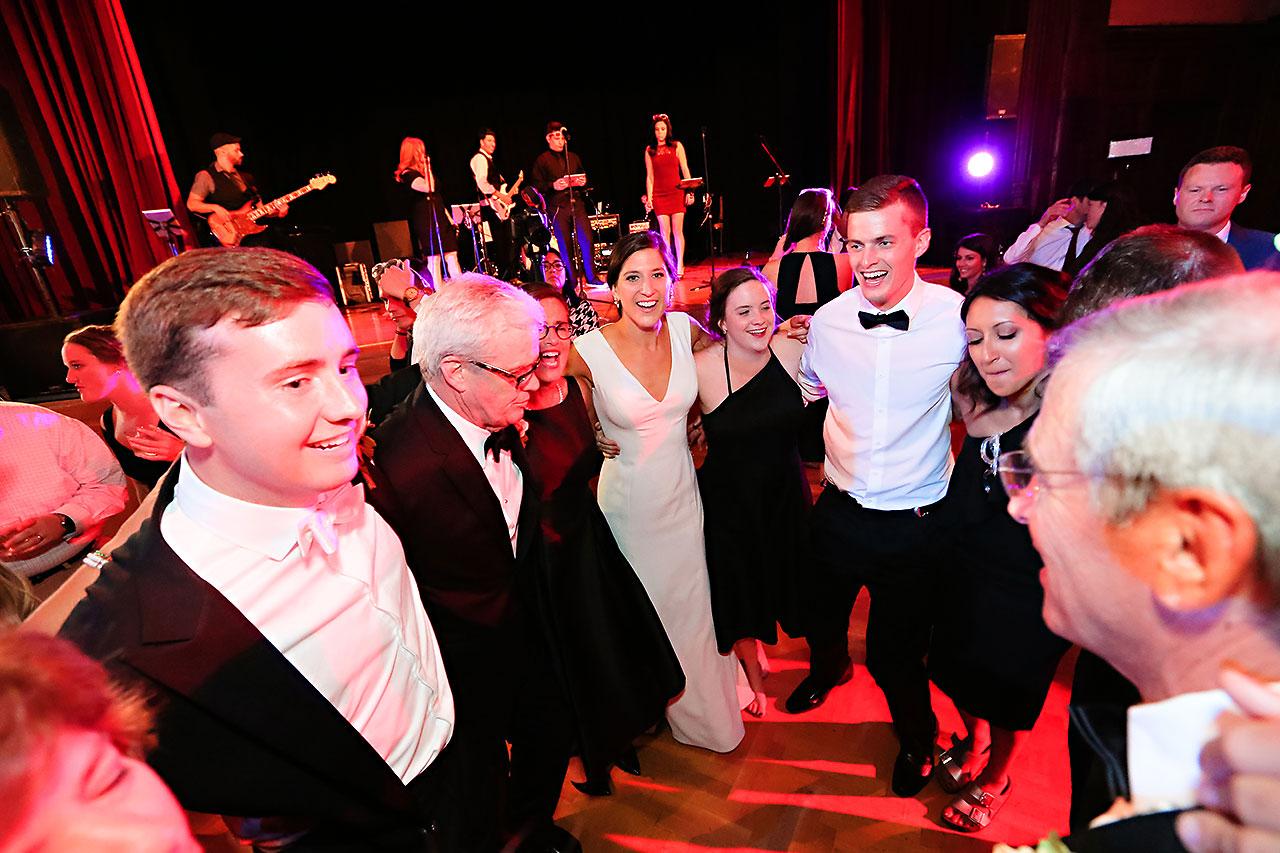 Emily Michael IU Wedding Alumni Hall 355