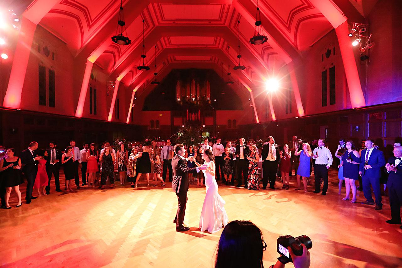 Emily Michael IU Wedding Alumni Hall 353