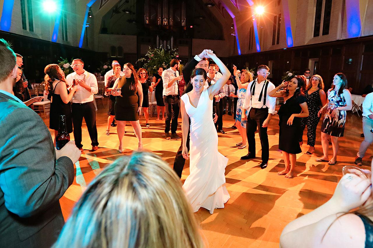 Emily Michael IU Wedding Alumni Hall 348