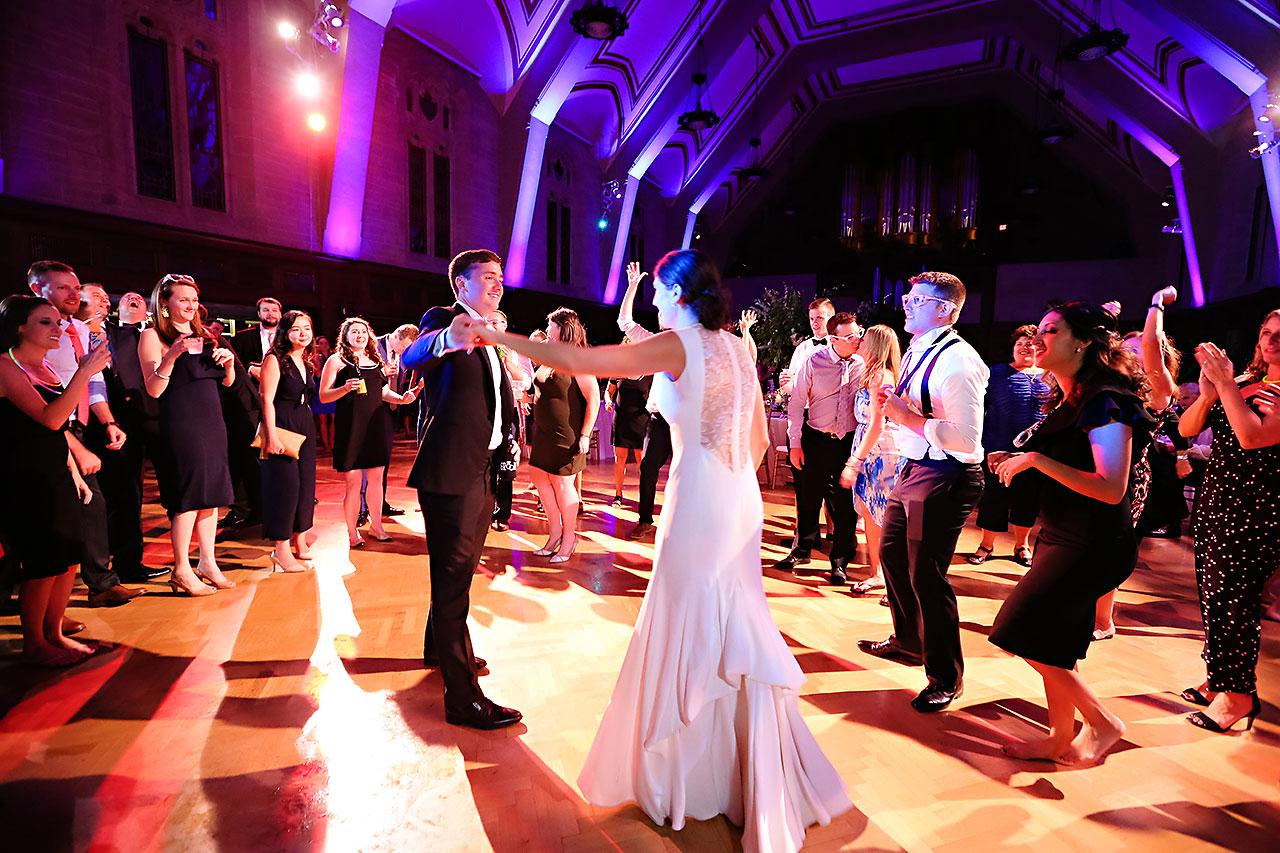 Emily Michael IU Wedding Alumni Hall 349