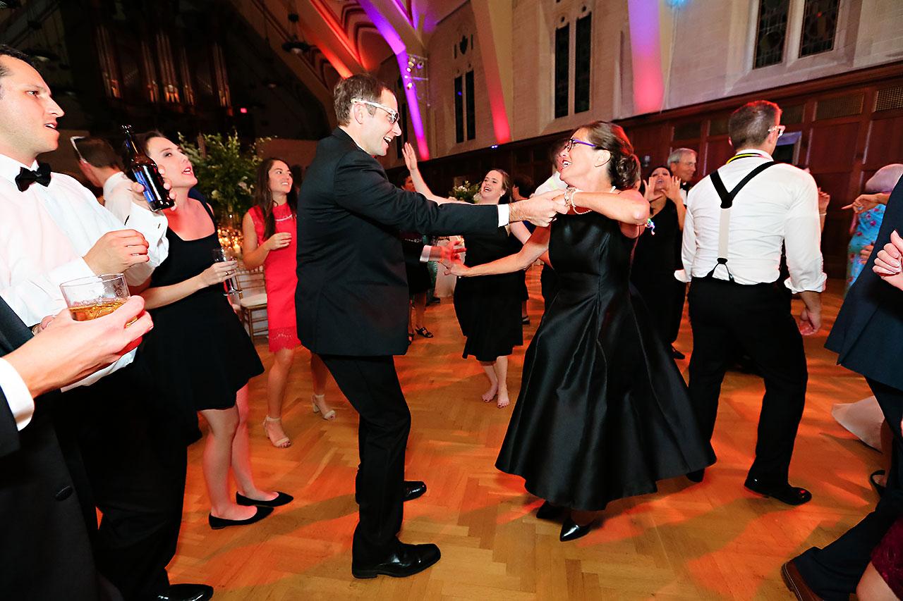 Emily Michael IU Wedding Alumni Hall 345