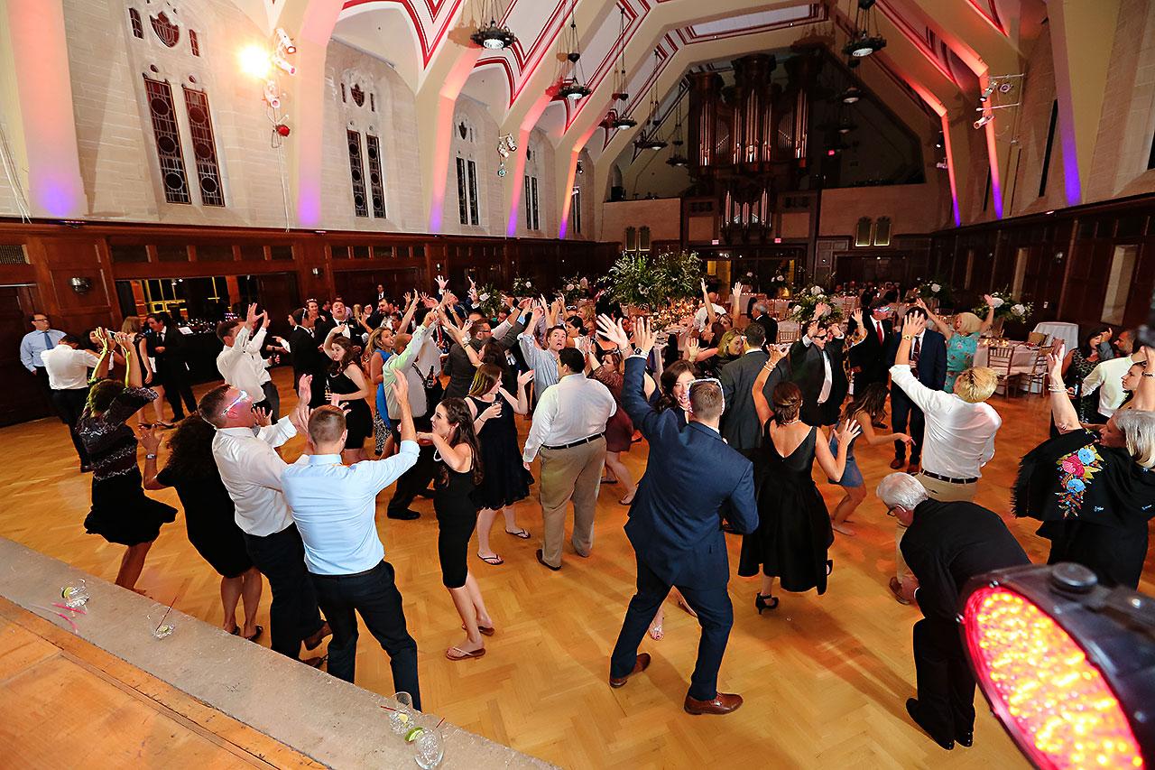 Emily Michael IU Wedding Alumni Hall 343