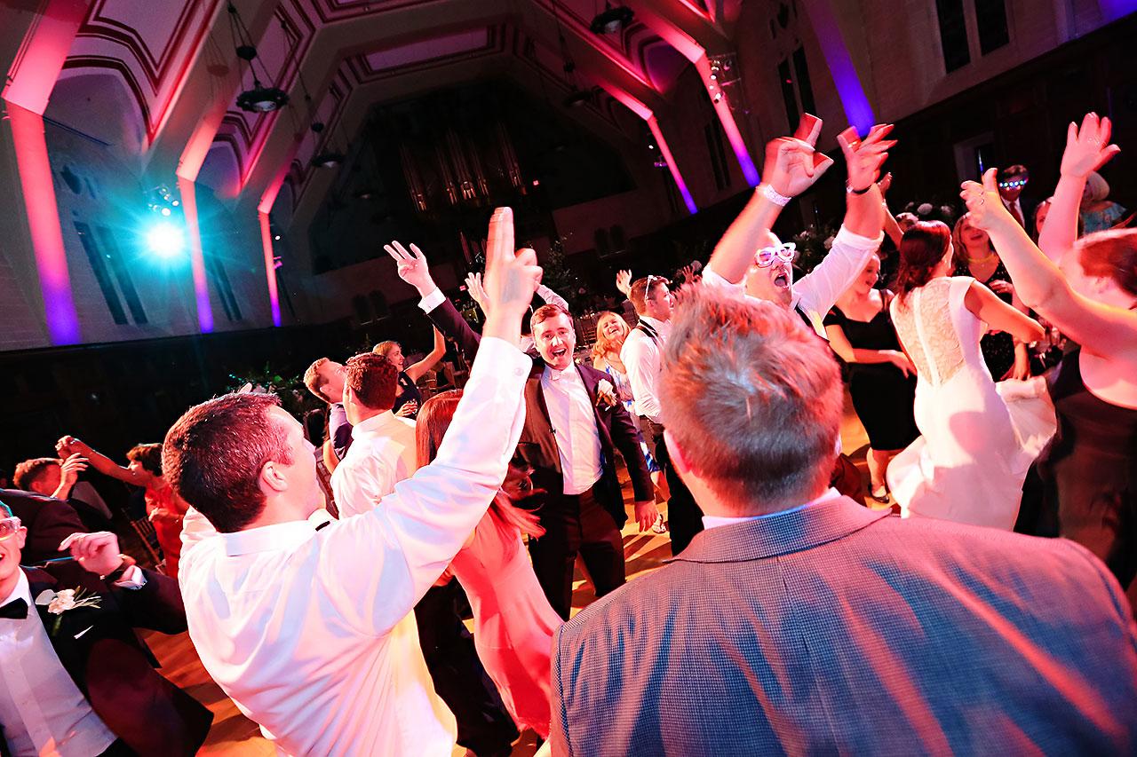 Emily Michael IU Wedding Alumni Hall 344