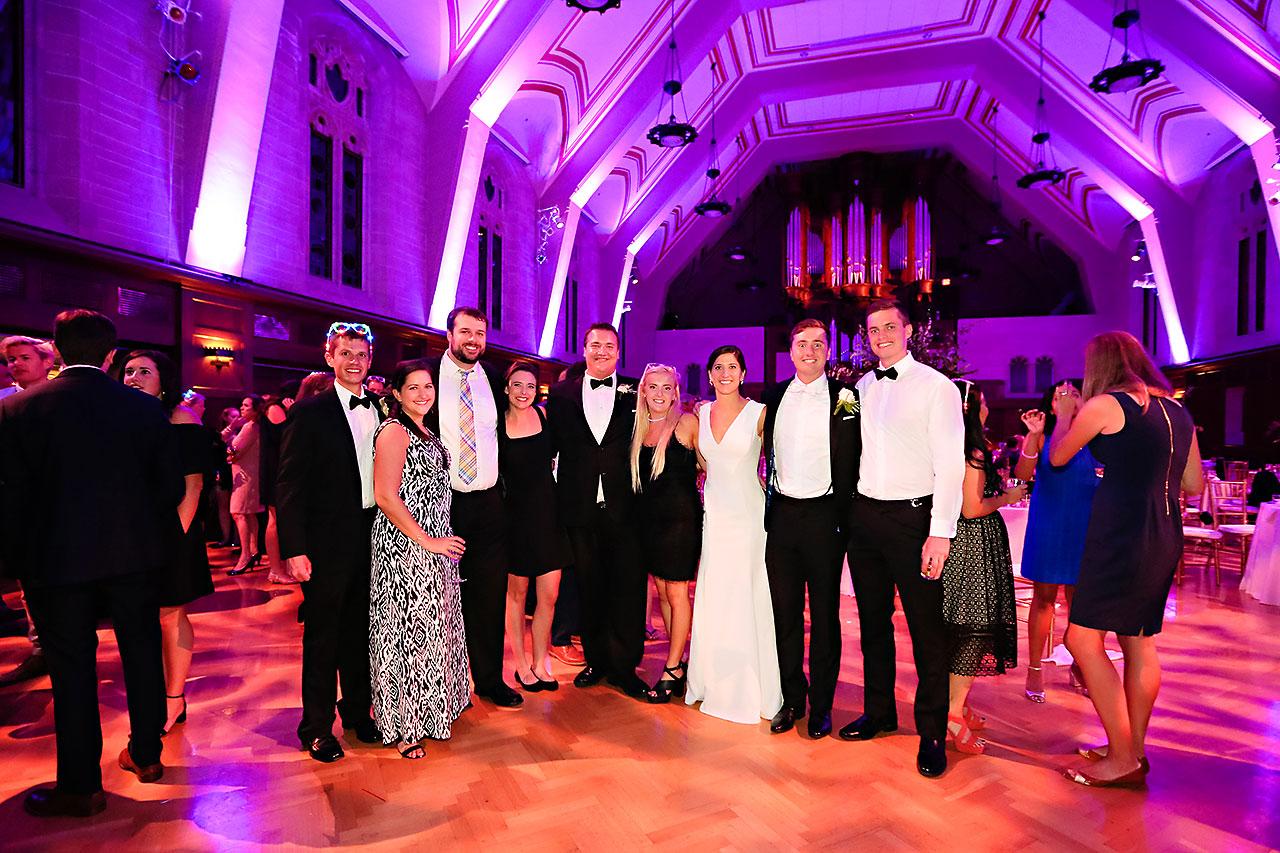 Emily Michael IU Wedding Alumni Hall 342