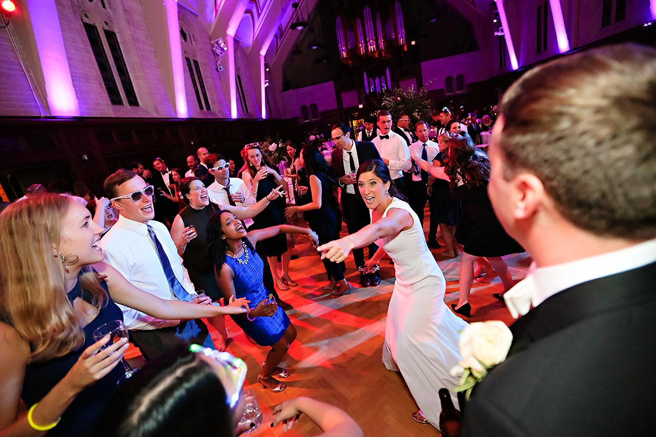 Emily Michael IU Wedding Alumni Hall 336