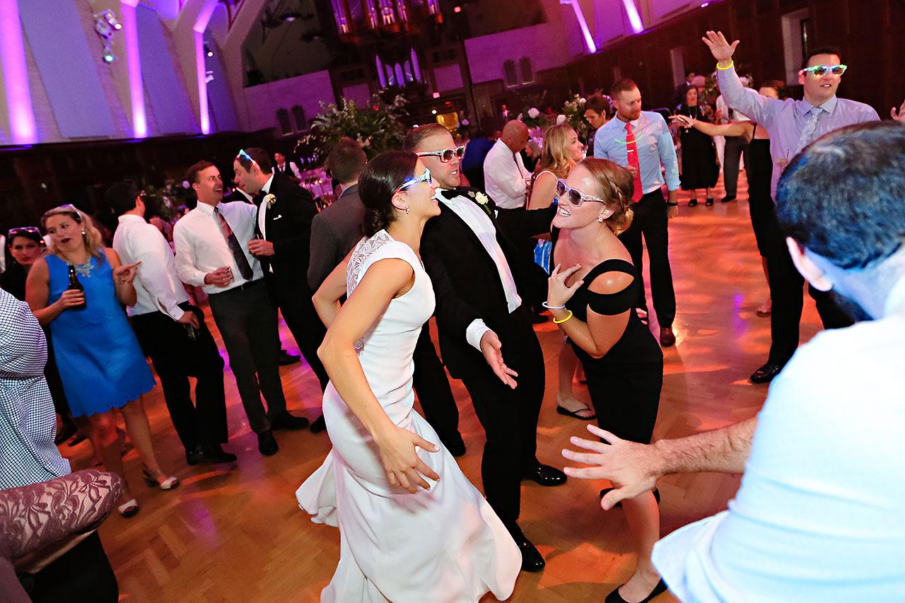 Emily Michael IU Wedding Alumni Hall 338