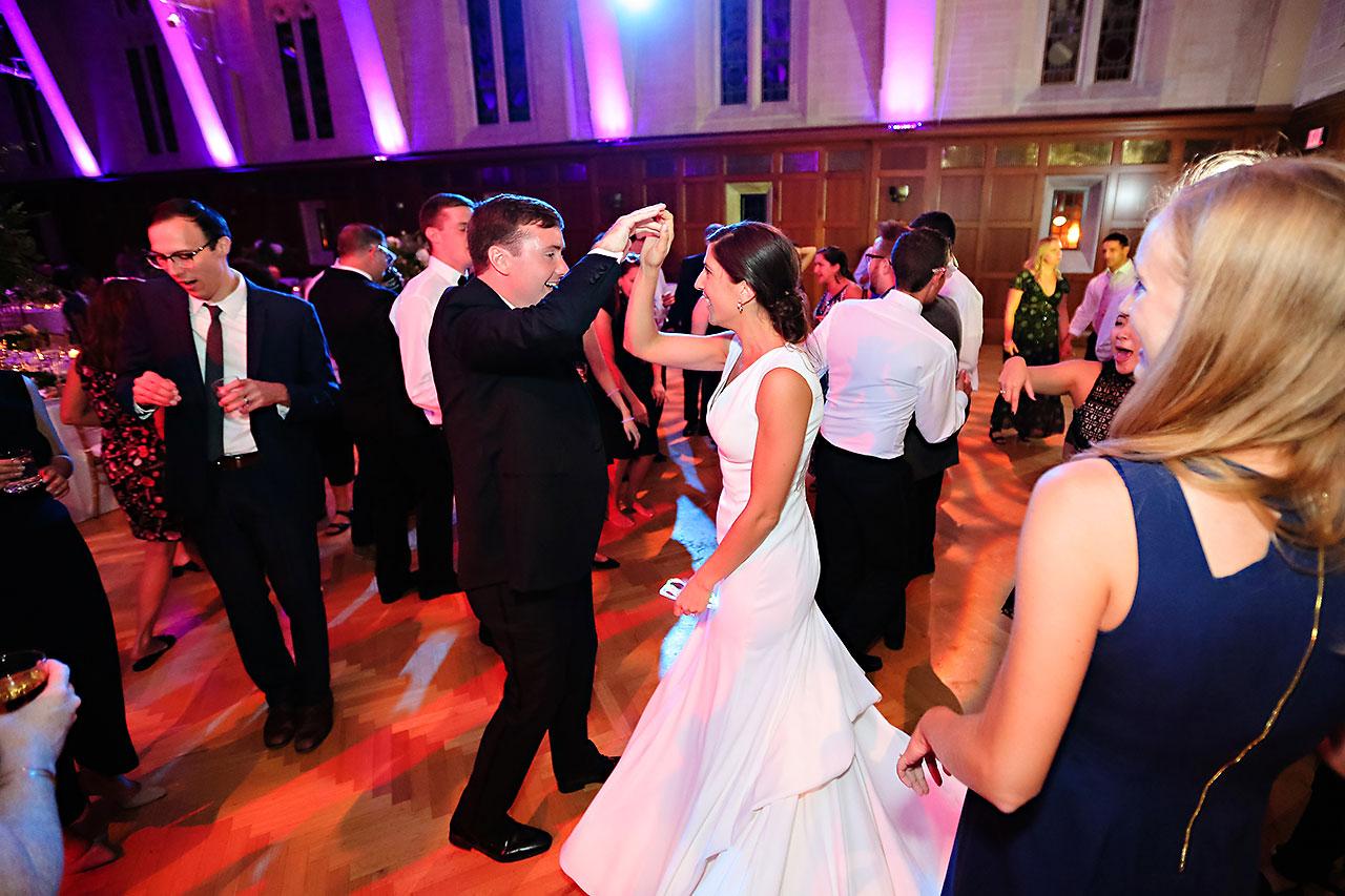 Emily Michael IU Wedding Alumni Hall 334