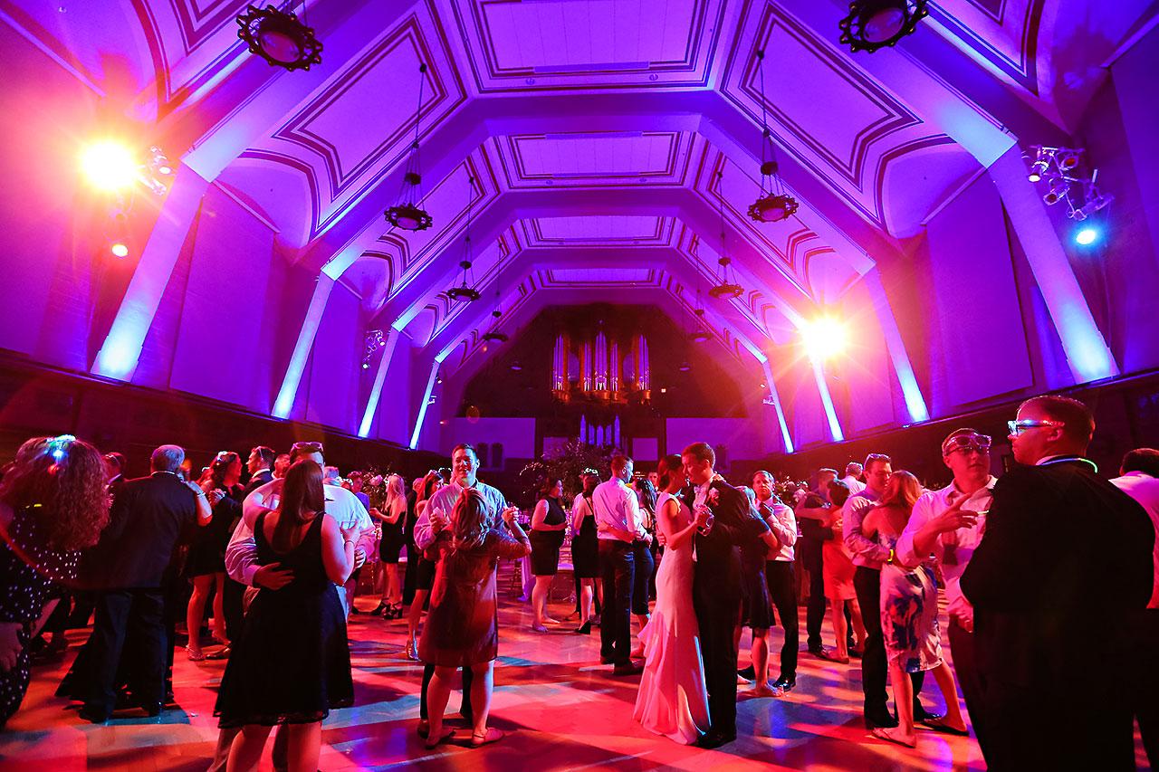 Emily Michael IU Wedding Alumni Hall 329