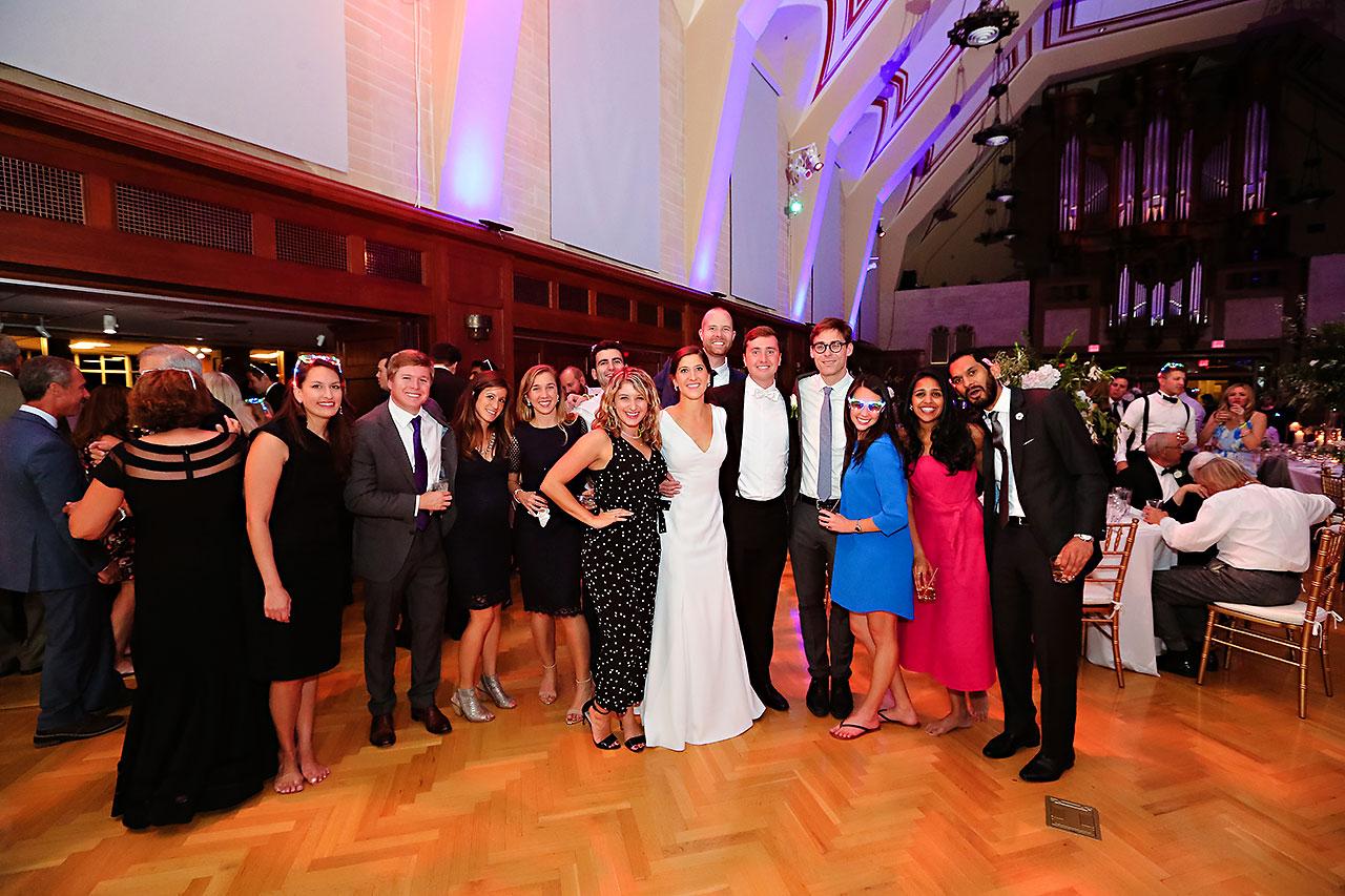 Emily Michael IU Wedding Alumni Hall 330