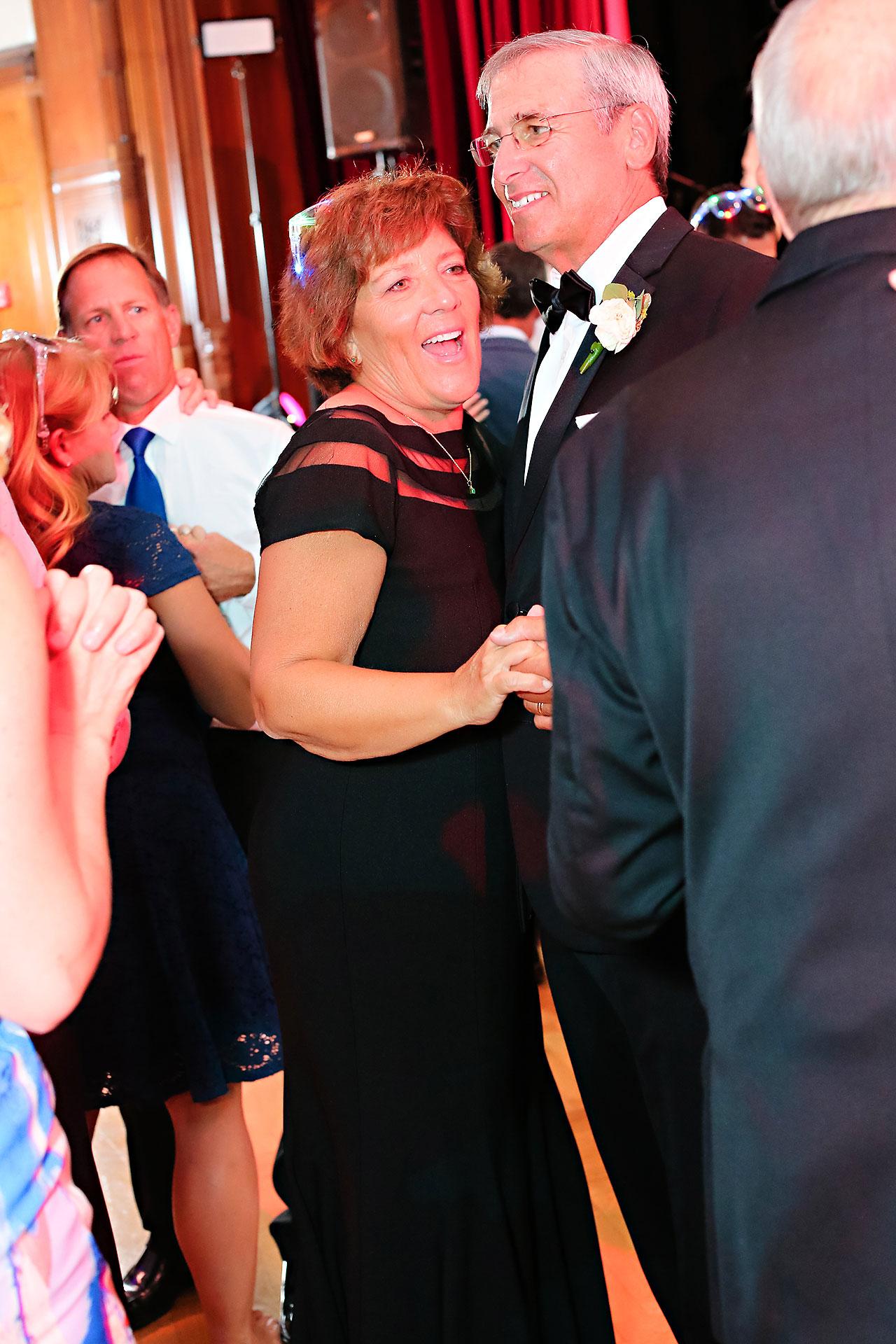 Emily Michael IU Wedding Alumni Hall 326