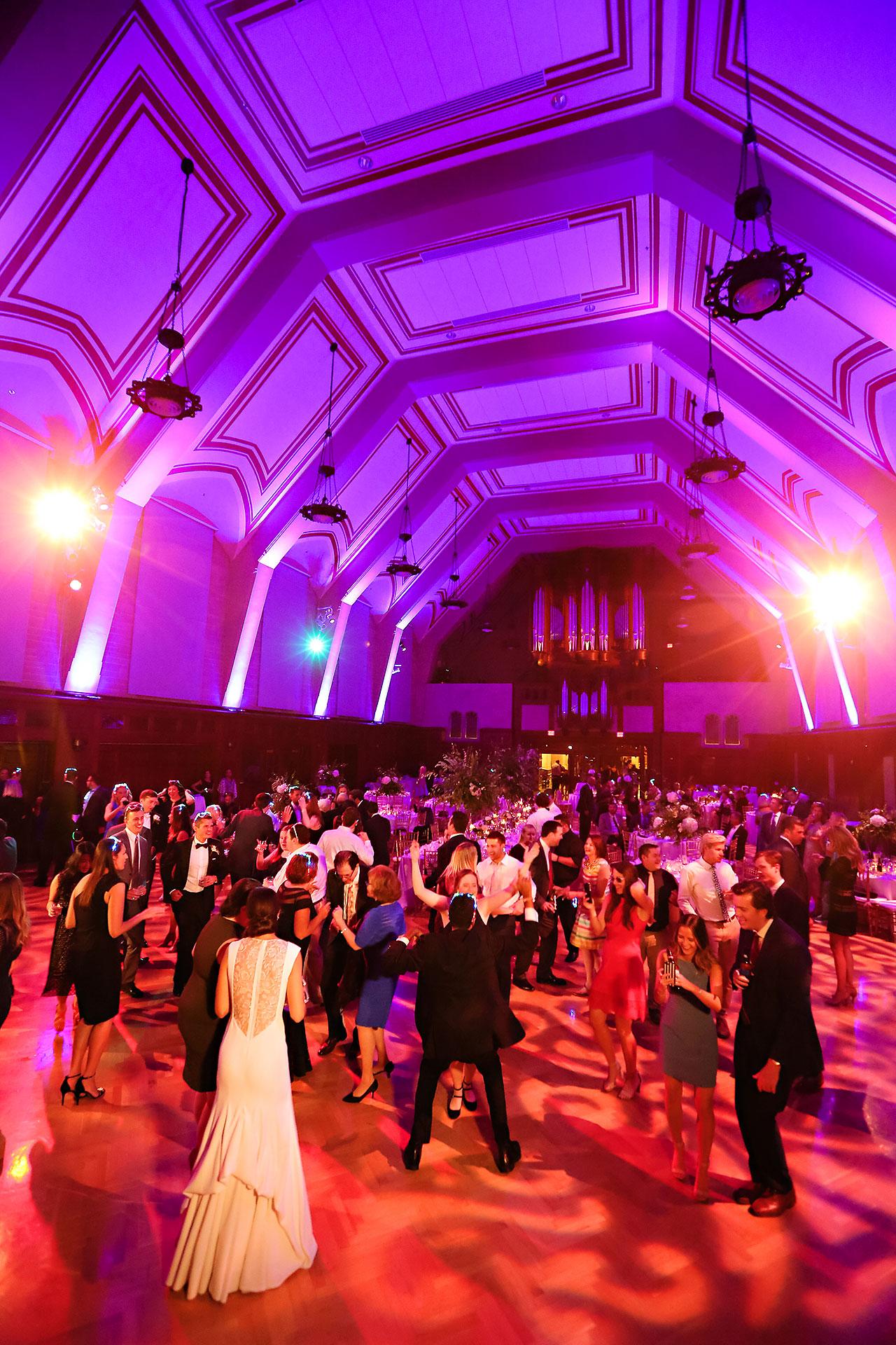 Emily Michael IU Wedding Alumni Hall 323
