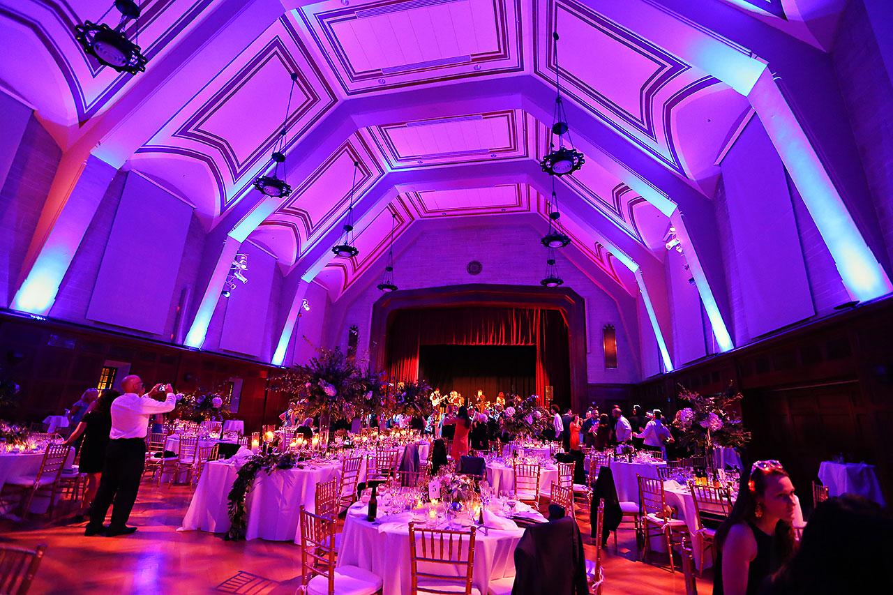 Emily Michael IU Wedding Alumni Hall 320