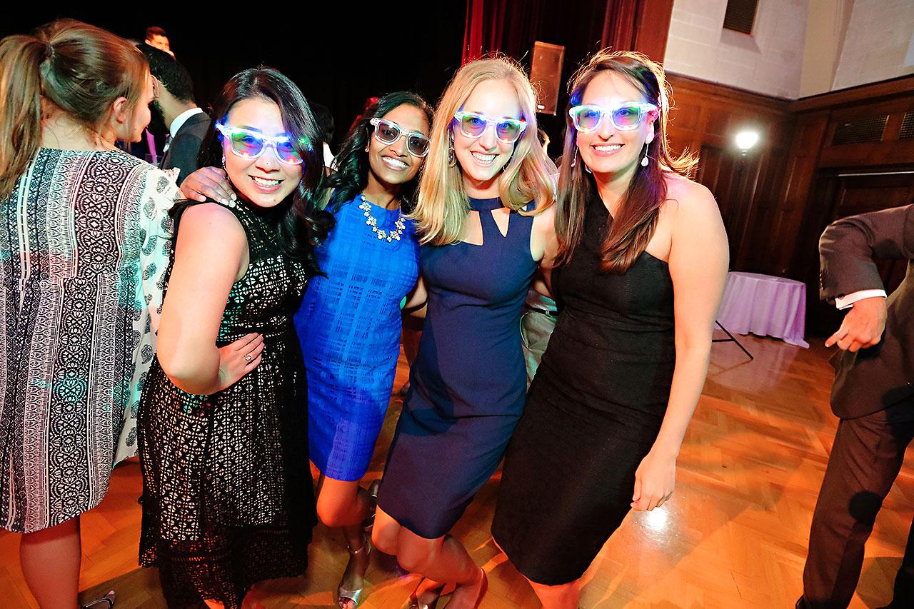 Emily Michael IU Wedding Alumni Hall 315