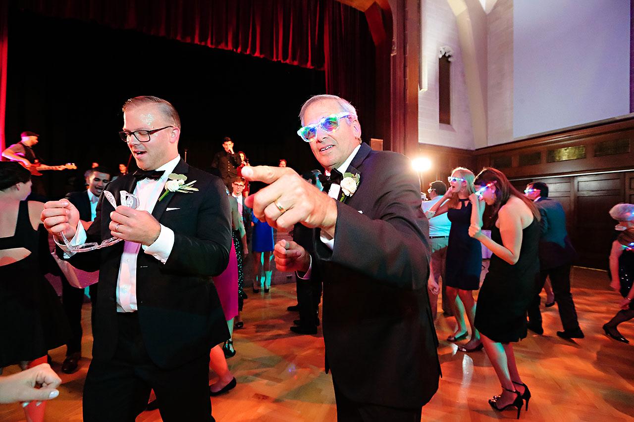 Emily Michael IU Wedding Alumni Hall 316