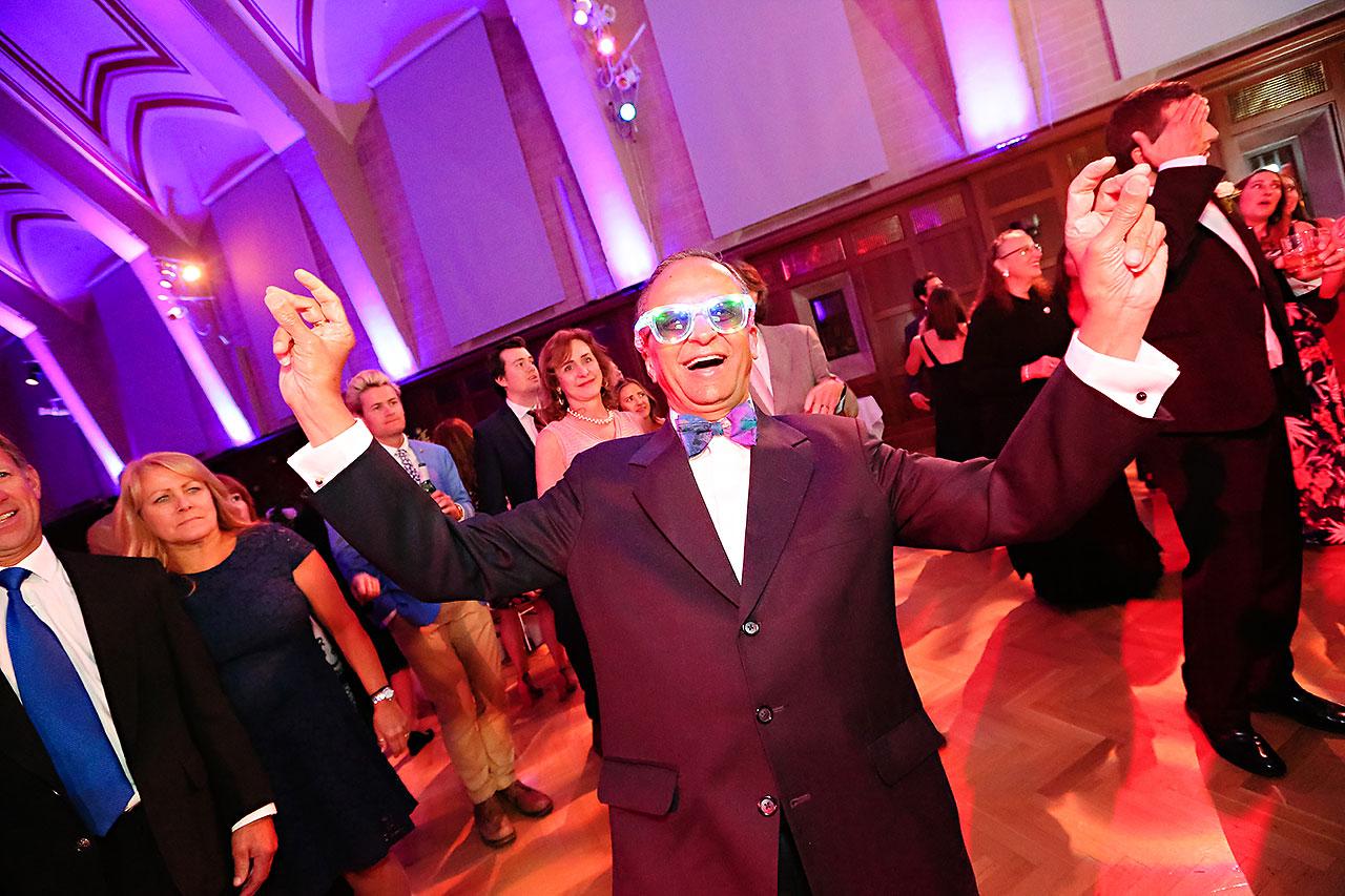 Emily Michael IU Wedding Alumni Hall 317